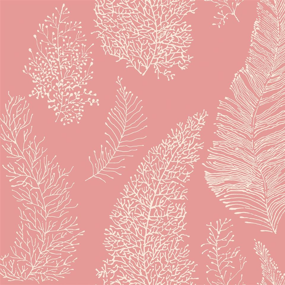 AC6029 Wallpaper By The Sea CORAL