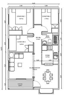 Planos casas de madera prefabricadas octubre 2012 casa en 2019 - Planos de casas de madera de una planta ...