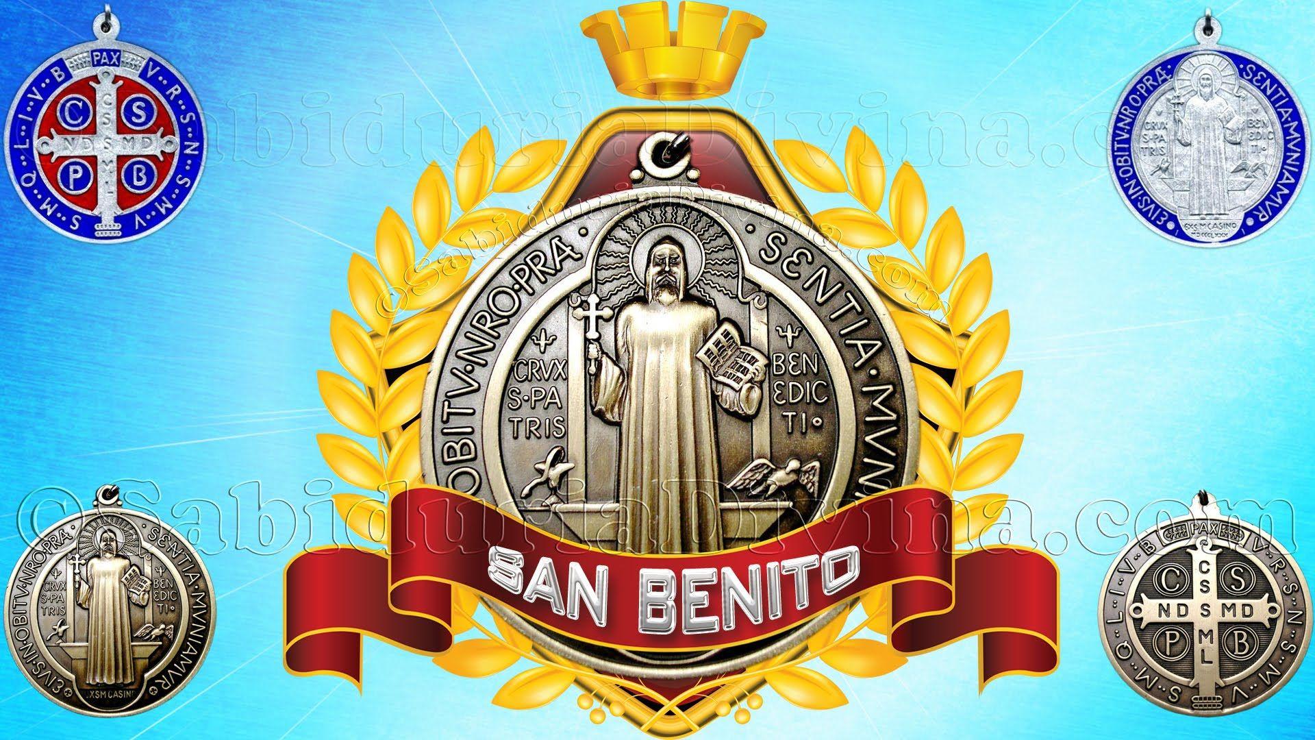 Medalla Exorcismo De San Benito Oracion Oración A San Benito Oraciones Oraciones Catolicas De Proteccion