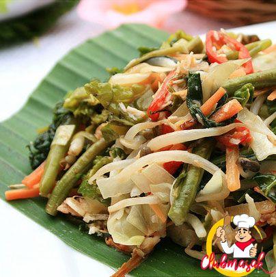 Resep Jukut Urap Salad Sayur Untuk Diet Club Masak Masakan Indonesia Resep Diet Salad Sayur