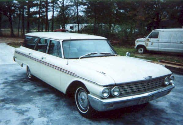 1962 ford station wagon