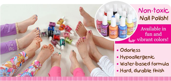 Natural, non-toxic, hypoallergenic nail polish that\'s baby friendly ...