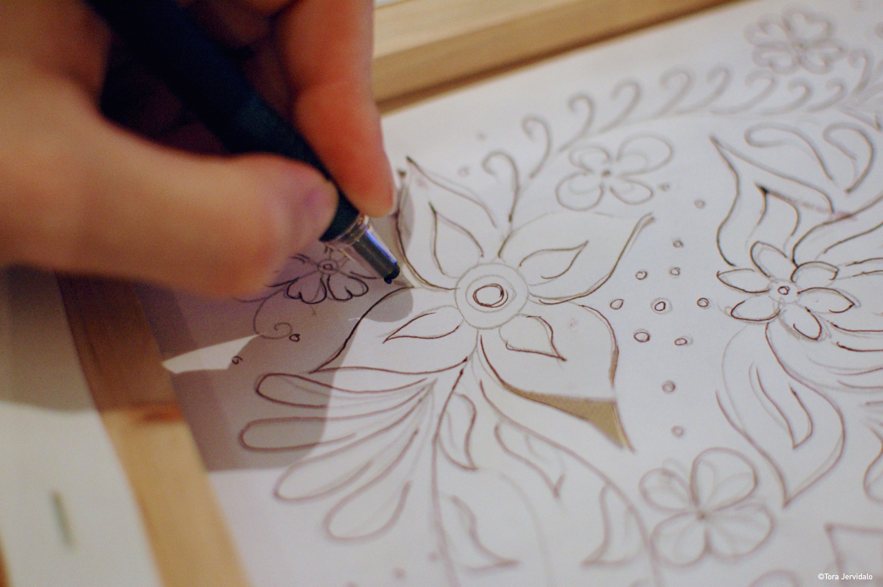 Cut out, pop up, lighted canvas. Step by step DIY instructions on ...