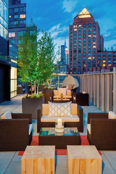 Experiencing A Bit Of Real New York Just Got Easier With The Hyatt Union Square And You Can Borrow Scooters It S Fodors100 Hotel Awards Winner In