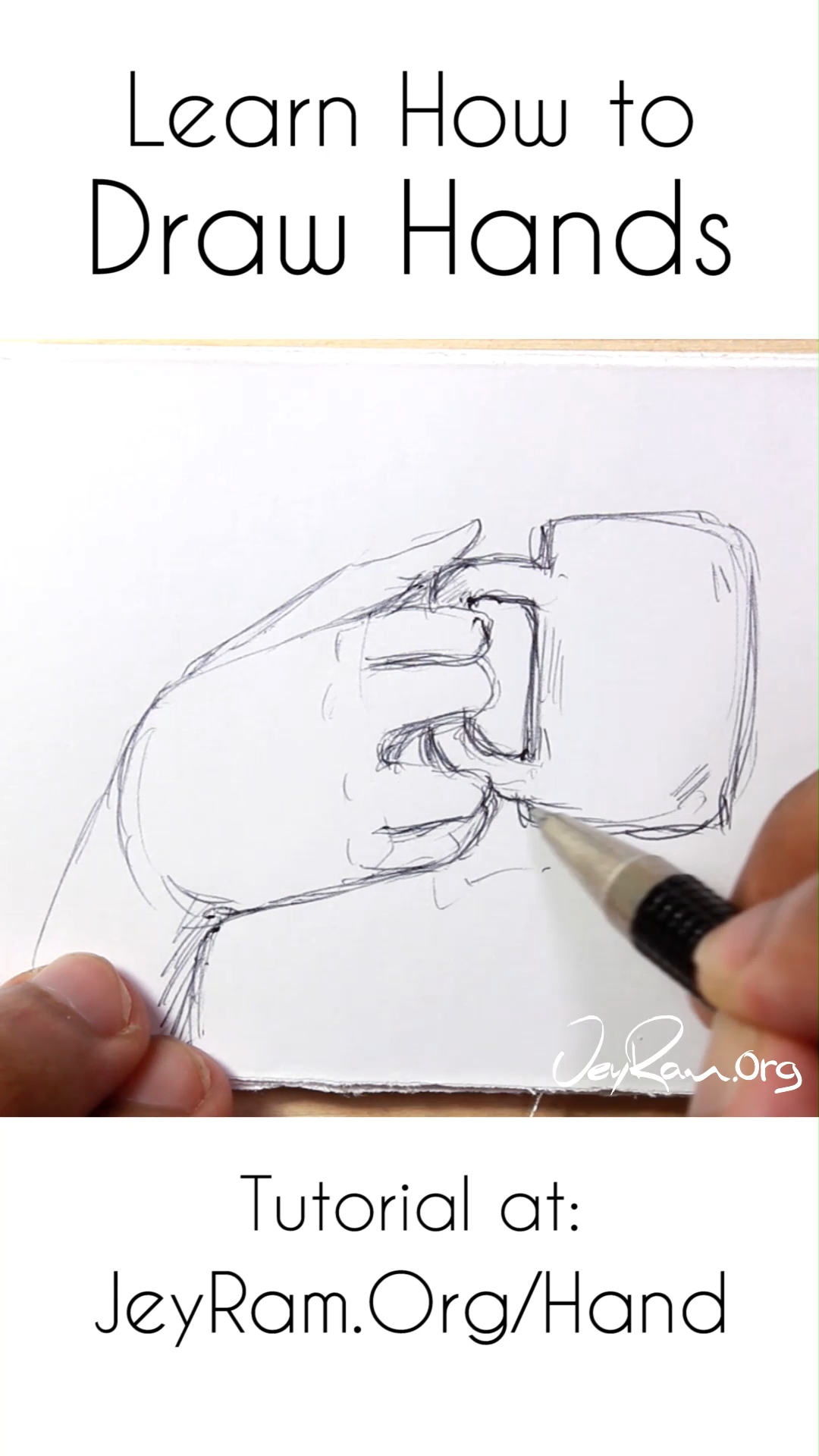✔ Drawing Step By Step Videos Hands #drawingtime #drawing2me #drawingtutorial