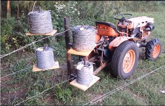 NEW FIELD Fence WIRE UNROLLER STRETCHER CLOSEOUT PRICE | eBay ...
