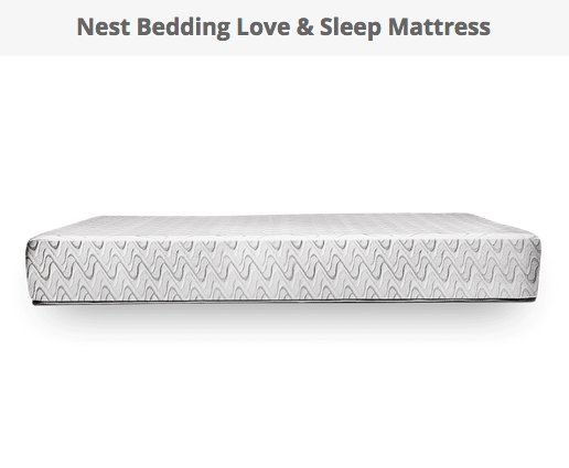 Win a $749.00 Nest Bedding Love & Sleep Mattress. 10 ways to enter this giveaway, try each one to max your chances.