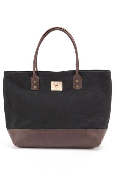 b30a62312fc4 Will Leather Goods 'Utility' Cotton Canvas & Leather Tote | Nordstrom
