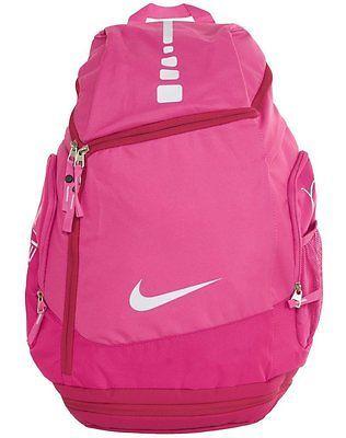 Nike Hoops Elite Max Air Basketball Backpack Laptop Bag Breast Cancer  Ba4880 661 fefa0dca9c15f