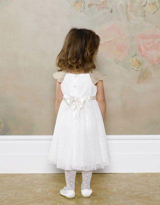 Baby Estella Sparkle Dress | Gold | Monsoon