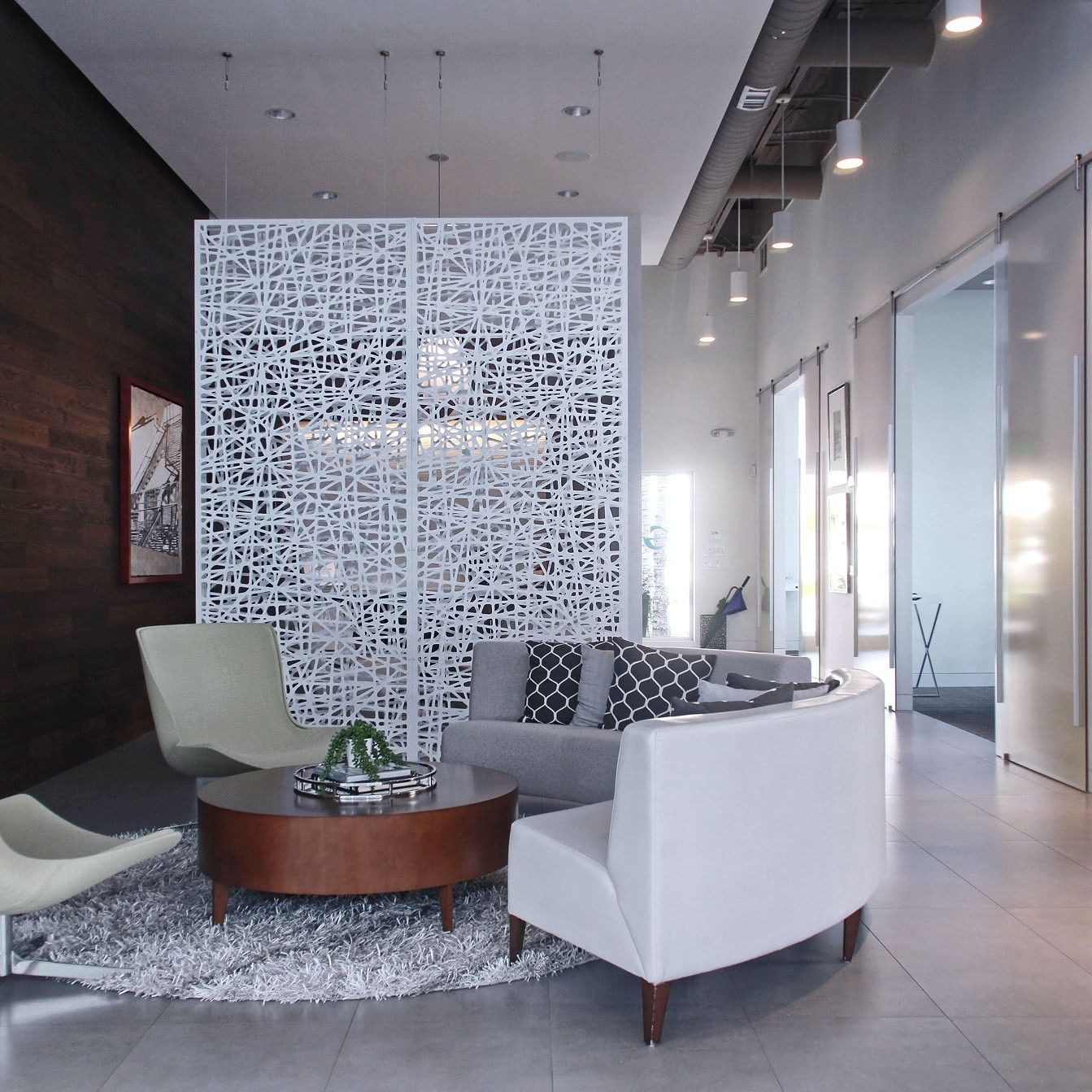 Lobby Accent Wall Corporate Messaging: Pin By RAZORTOOTHDESIGN On Lobby Design