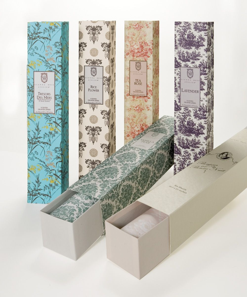 Drawer Liners Rice Flower 20 A Handsome High Class Baroque