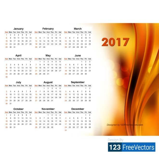 CALENDAR DESIGN 2017 CALENDARIO PERPETUO Pinterest Calendar design - Perpetual Calendar Template