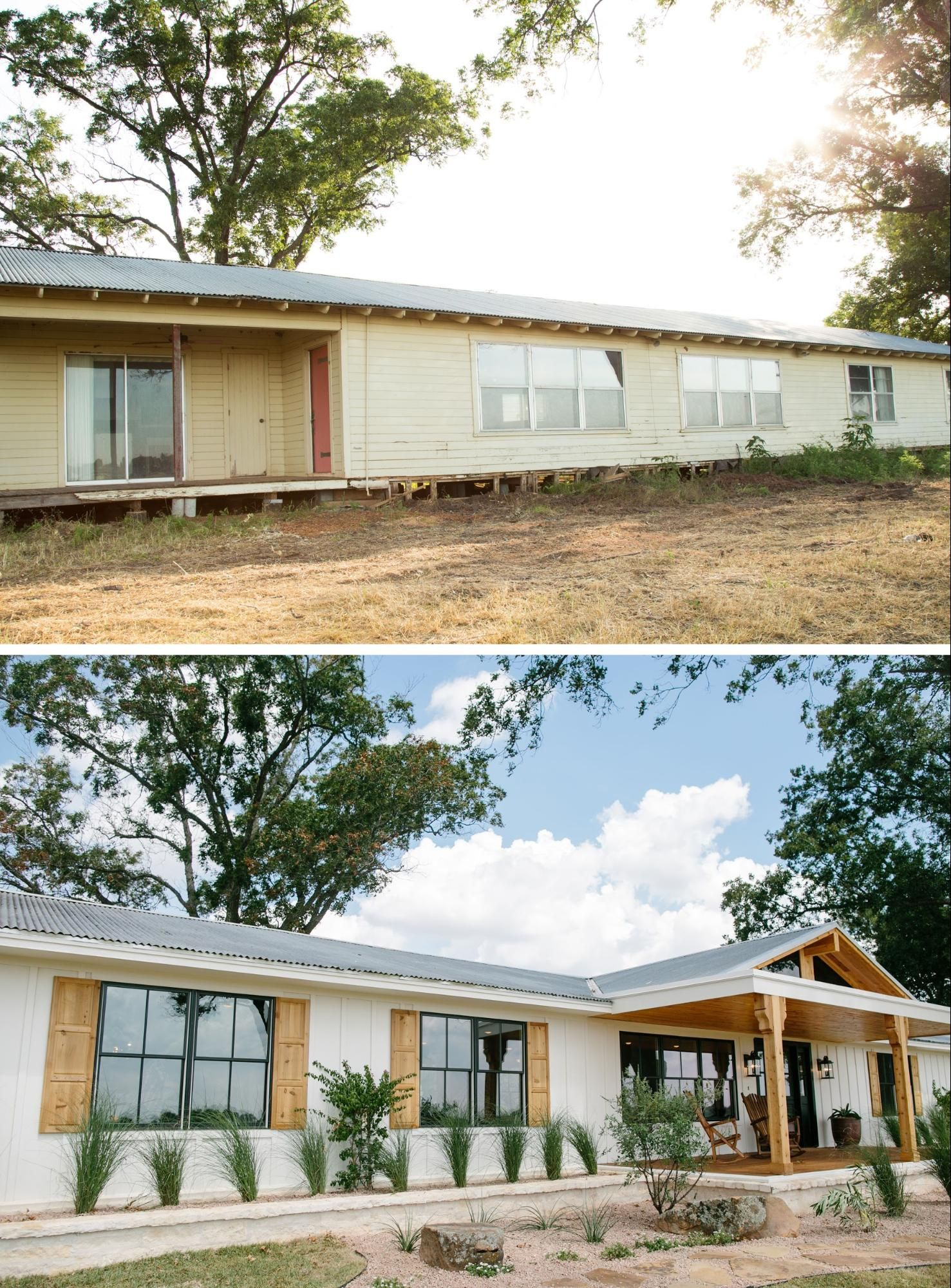Fixer Upper. Fixer Upper   House  Porch and Ranch