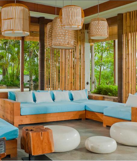 Interior Kamar Tidur Bali  villa tantangan bali indonesia www beyondvillas com