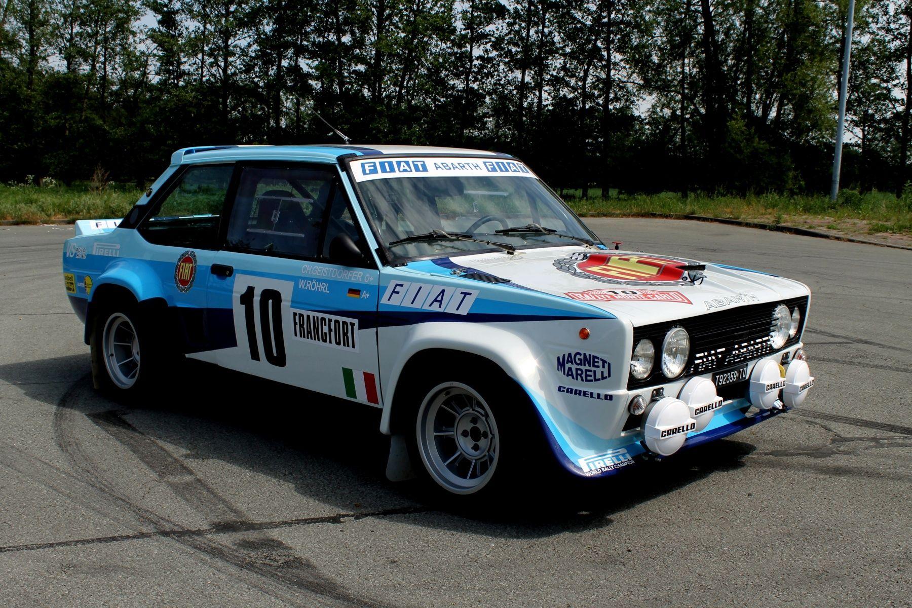 1980 Fiat 131 131 Gruppe 4 Abarth Rallye 1980 Wrc Rohrl Replica