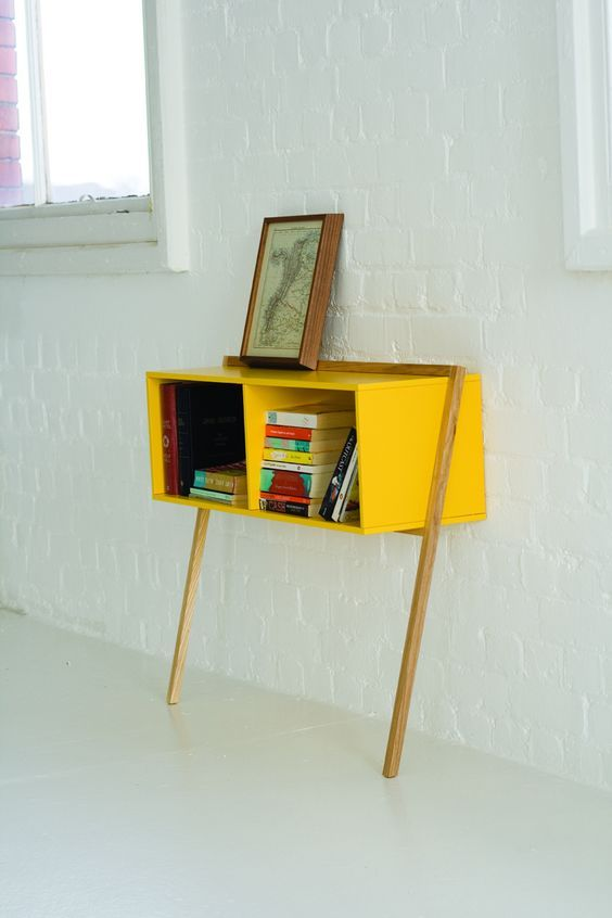 Leaning Desk Is Great For Small Spaces Office Diy Furniture Furniture Interior Furniture