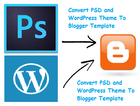 Free Convert PSD and WordPress Theme To Blogger Template   WEBMaster ...