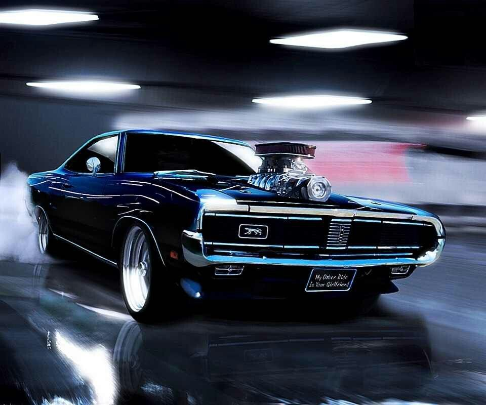 Dodge Car Wallpaper: 69 Dodge Charger Muscle Car