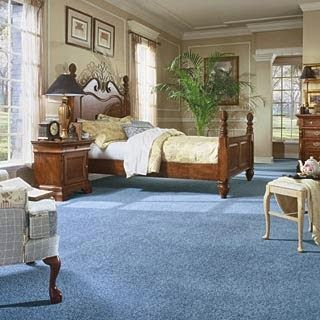 Beautiful Bedroom With Blue Carpet Pictutes Blue Carpet
