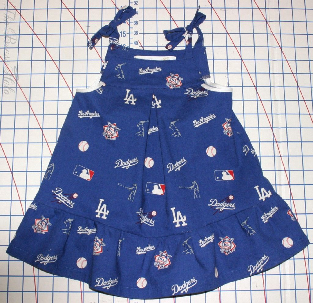 Baby Dodger dress, need to get one for our baby girl