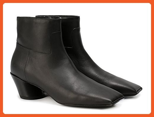 13bcef88193d Balenciaga Women s Black Calf Leather Ankle Boots - Booties Shoes - Size  9  US - Boots for women ( Amazon Partner-Link)
