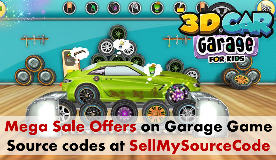 #AppsSourcecode #indiedev Get Amazing #Offers on the High Quality Garage #Game #SourceCodes.