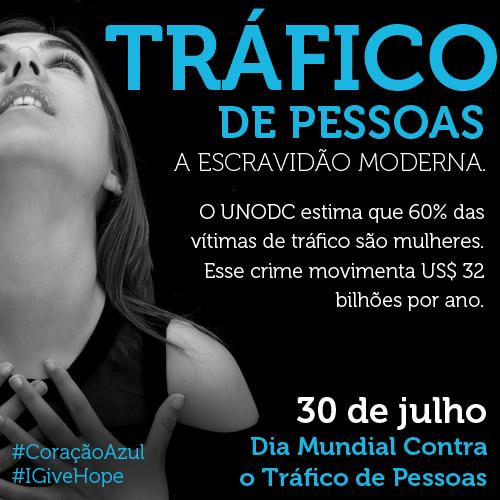 Resultado de imagem para Dia Mundial contra o Tráfico de Pessoas