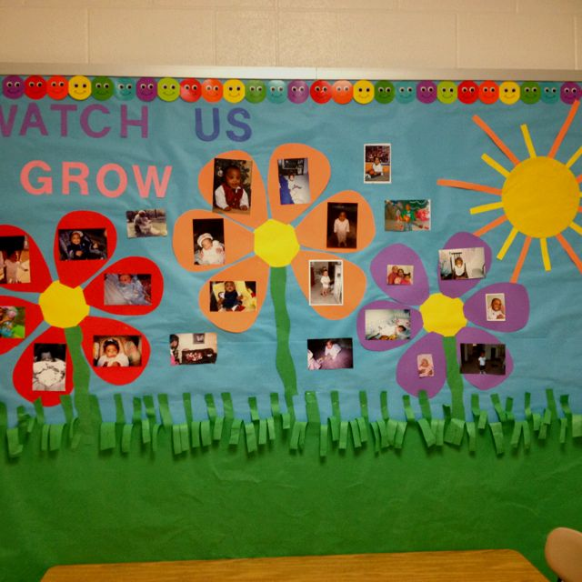 First Grade Bulletin Board Idea.