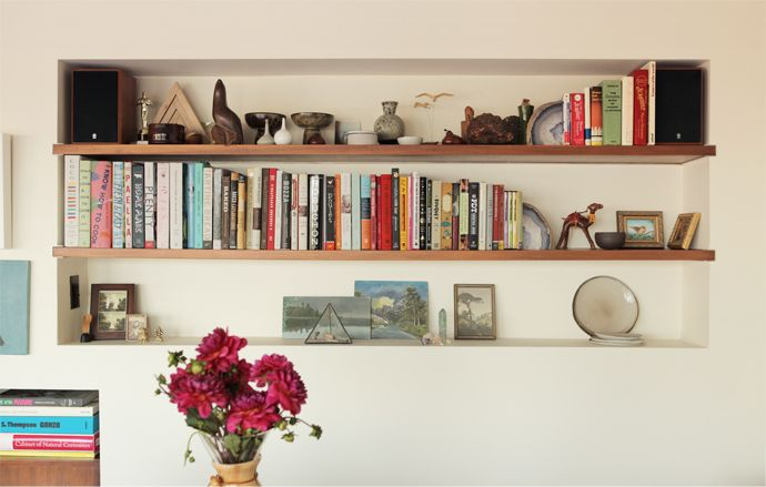 Writer Crystal Meers Silver Lake CA Bookshelf Featured On TheLibrarian