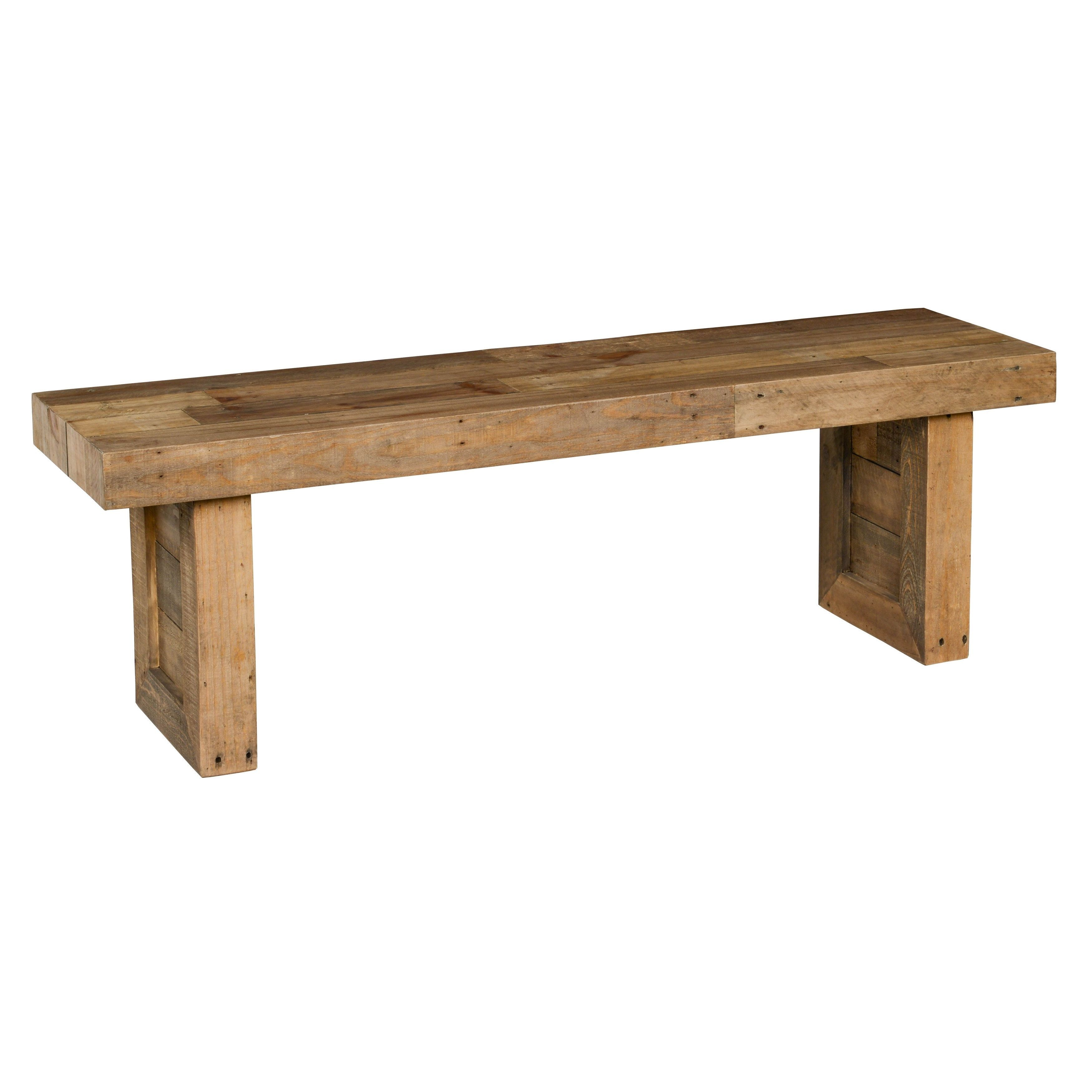 Kosas Home Hand Crafted Natural Recovered Shipping Pallets