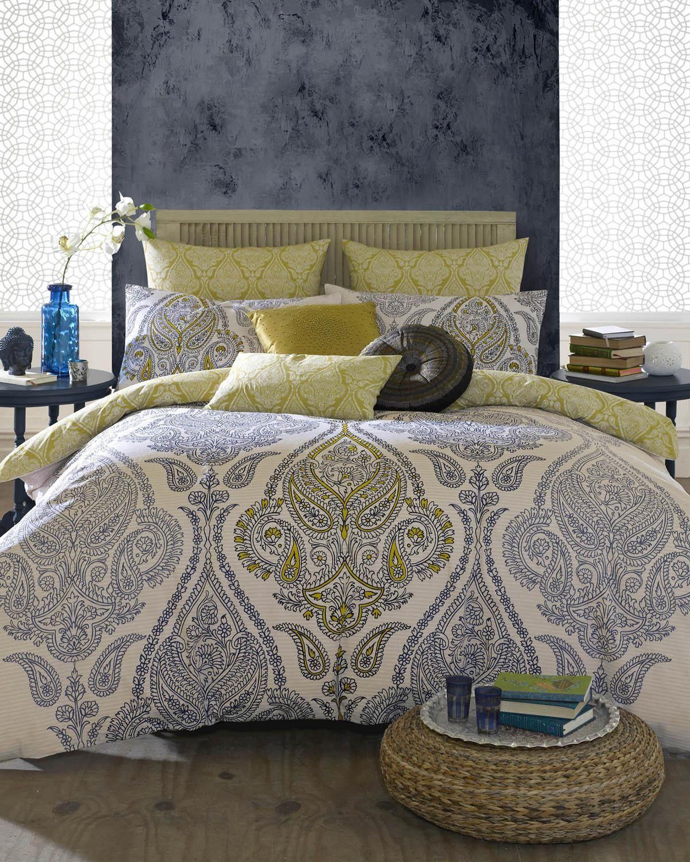 Elizabeth Hurley Lamara Bedding To Buy Paisley Bedding