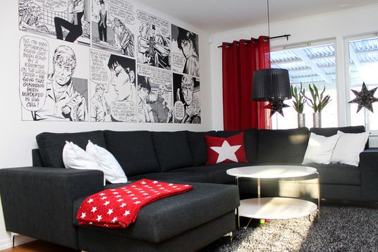 Modesty Comic Strip 2 Wall Mural Wallpaper Photowall Home