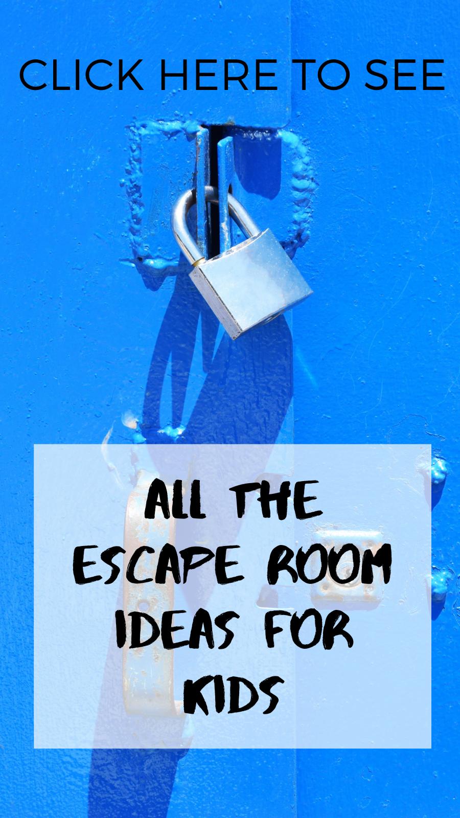 Machen Sie Ihre Eigene Flucht Room Challenge Fur Kinder Escape Room Challenge Escape Room For Kids Escape Room Diy
