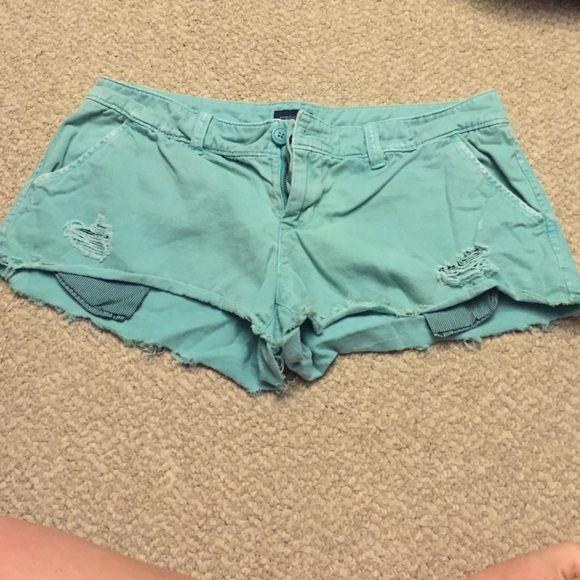 American Eagle Shorts Used but super cute shorts! American Eagle Outfitters Shorts