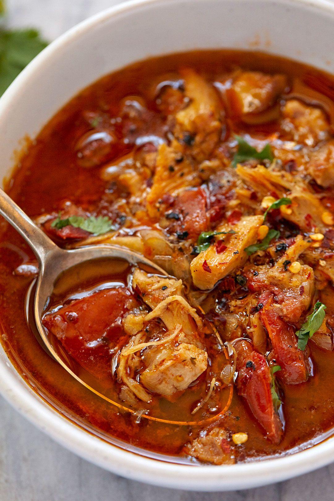Instant Pot Chicken Tomato Soup Chicken Tomato Soup Chicken Soup Recipes Tomato Soup Recipes