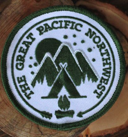 The Great PNW — Stay Wild Patch
