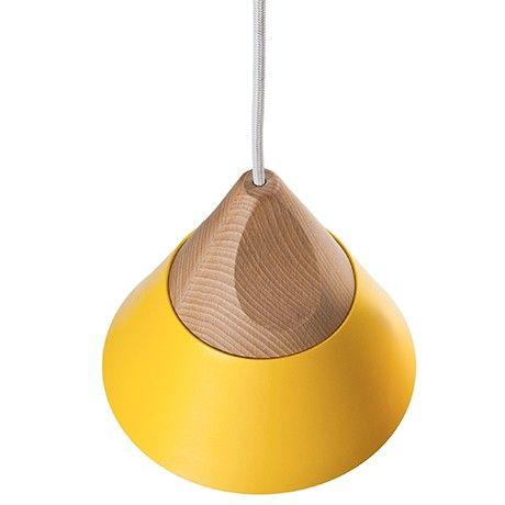 Slope Pendant Lamp - Yellow by Miniforms   MONOQI #bestofdesign #lighting