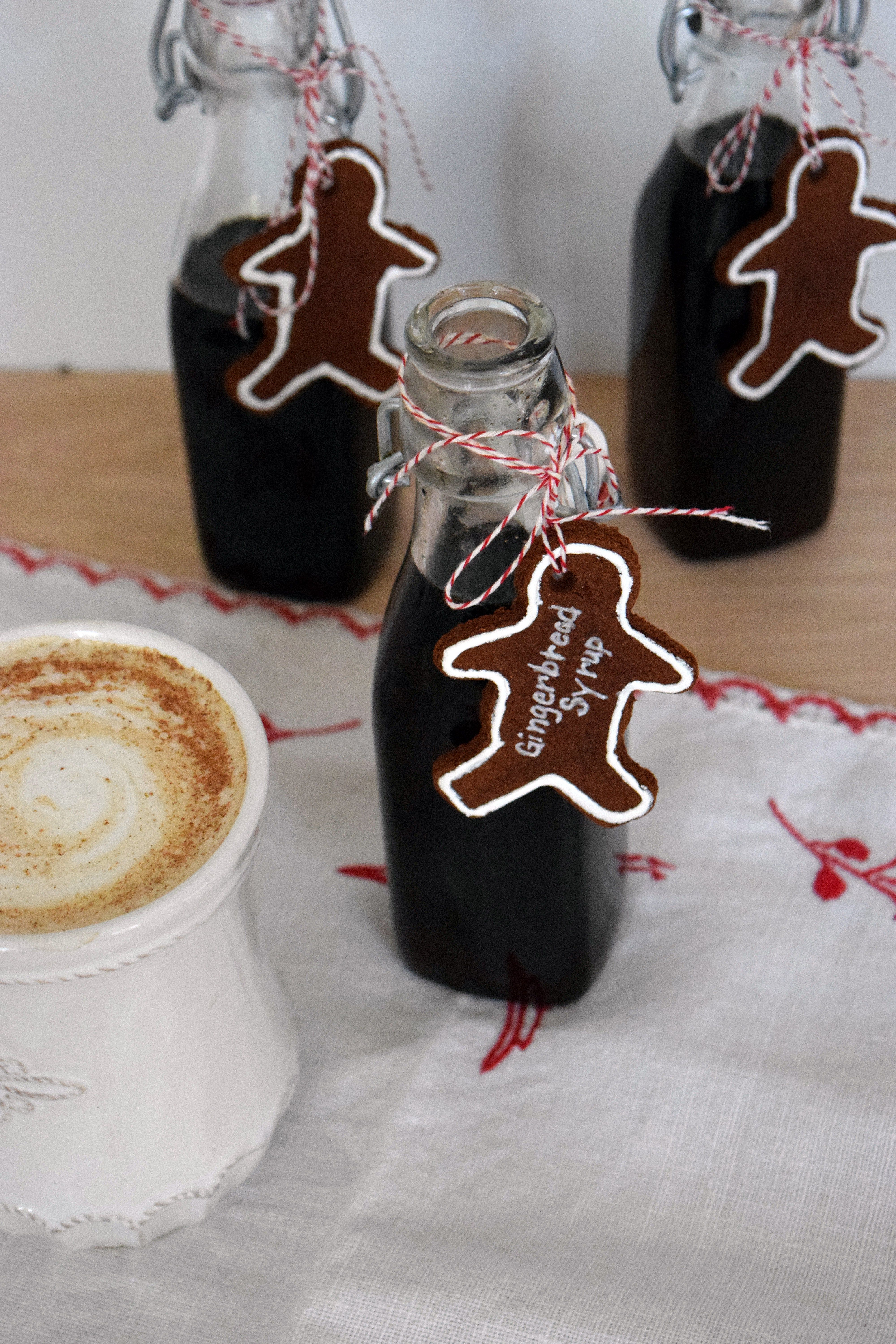 Gingerbread Syrup at