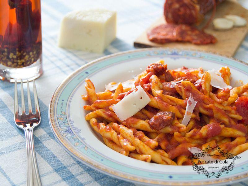 Pasta con la soppressata ricetta calabrese ricette for Ricette con la pasta