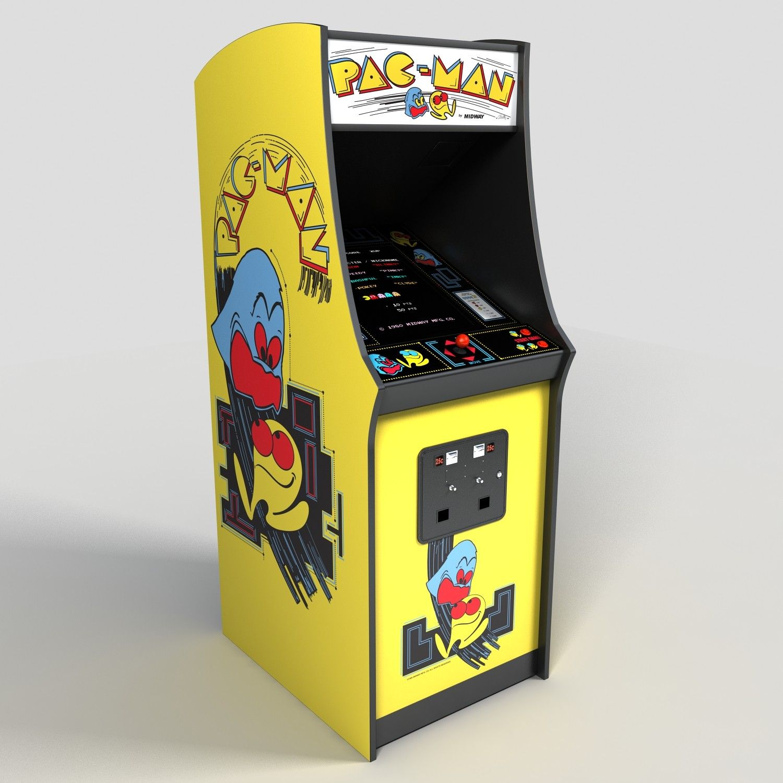 pacman arcade machine Google Search Retro arcade games
