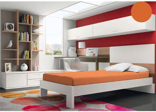 Dormitorio juvenil moderno y minimalista novedades de - Dormitorios juveniles minimalistas ...