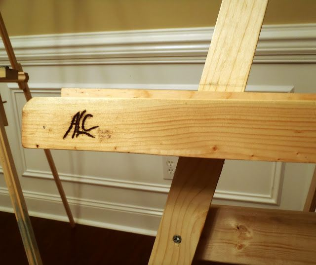 Lazy Liz on Less: Build a Cheap, Quick and Easy Artist Easel   Home ...