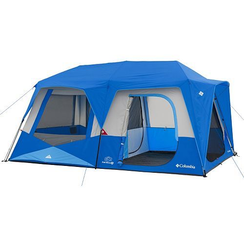 Columbia 10 Person Instant Cabin Tent Family Tent Camping Cabin Tent Best Tents For Camping