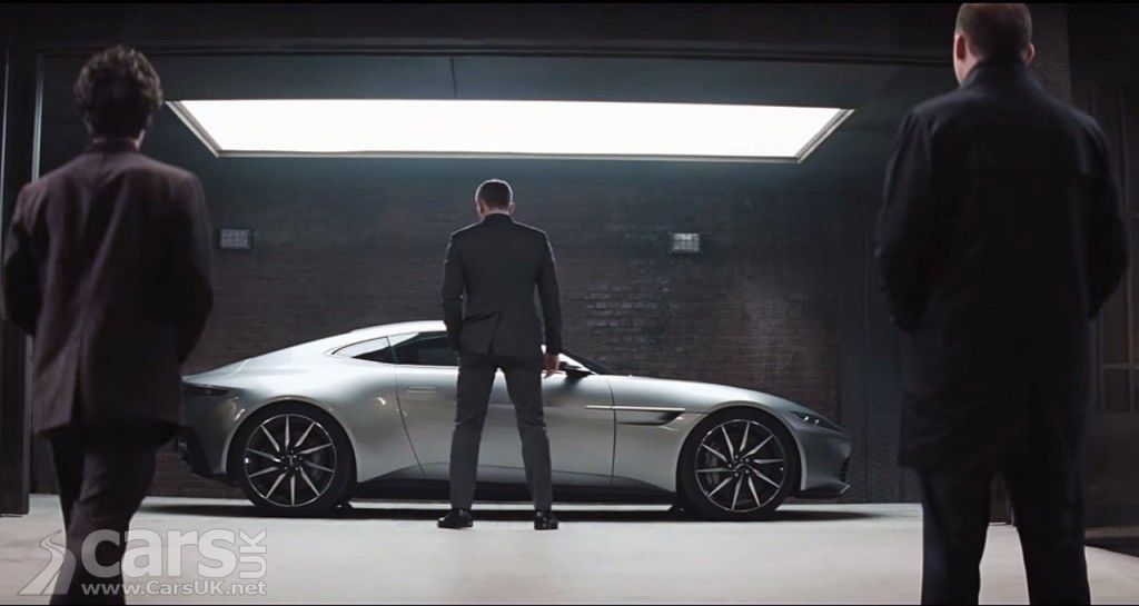 James Bond Meets The Aston Martin Db10 In New Spectre Trailer