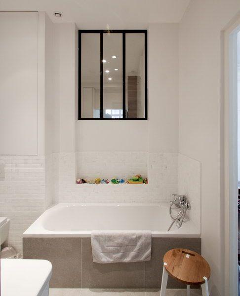 Appartement Amsterdam, Paris Salle de bains FELD Architecture - volume salle de bains