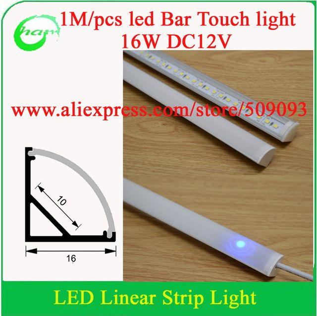 Aliexpress Com Buy V Shape 45 Degree 16w Led Bar Light With Warm White White For Touch And Dimmable Free Shipping From Reliab Led Light Bars Bar Lighting Led