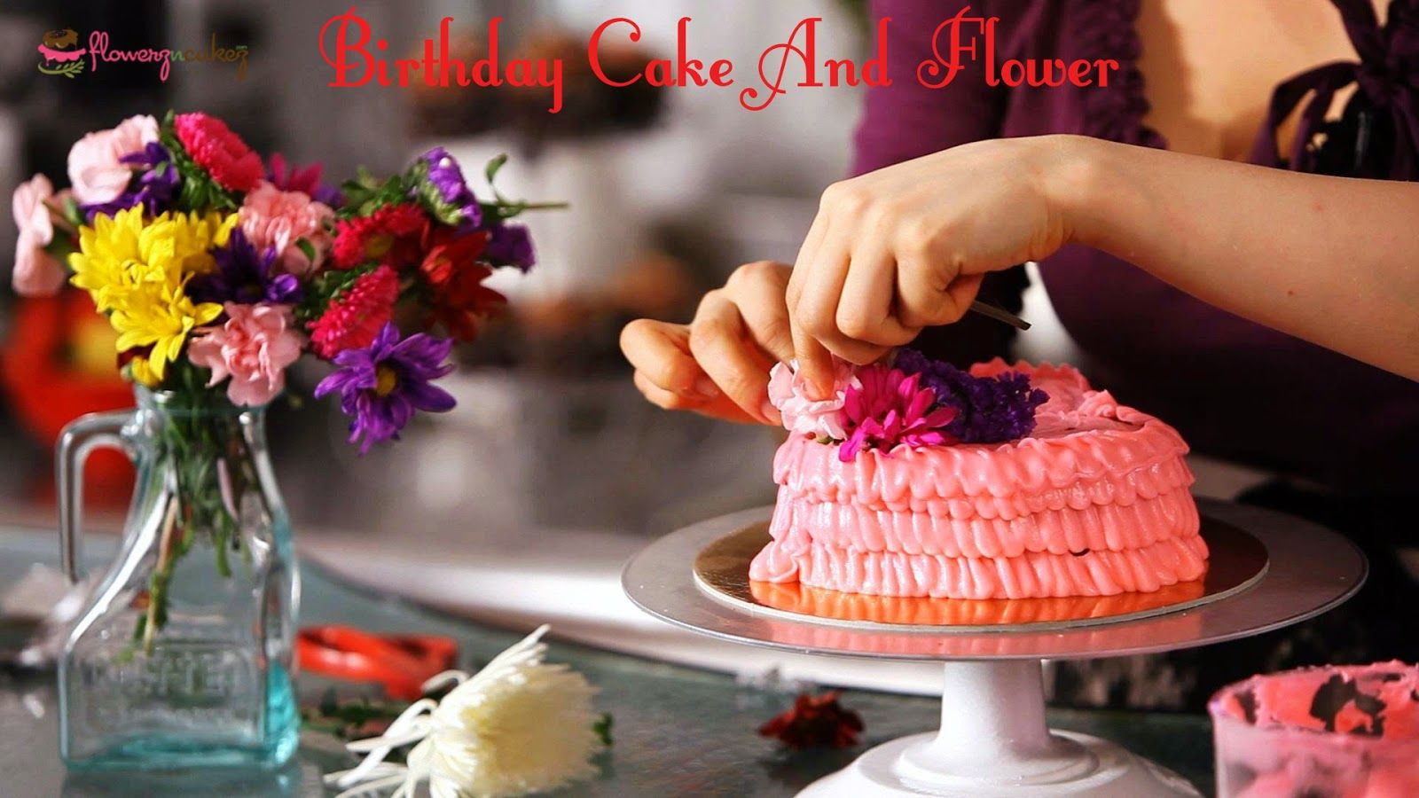 Purchasing Birthday Cakes And Flowers Within Your Budget Estimate