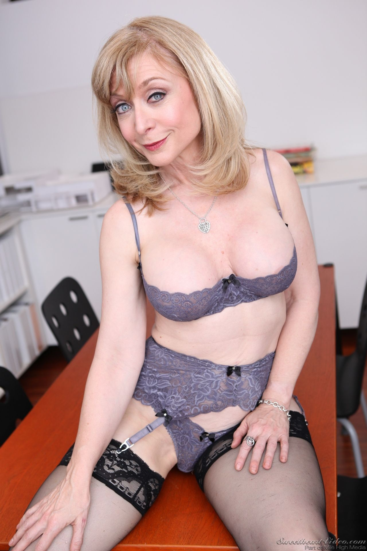 Black mikl nude woman
