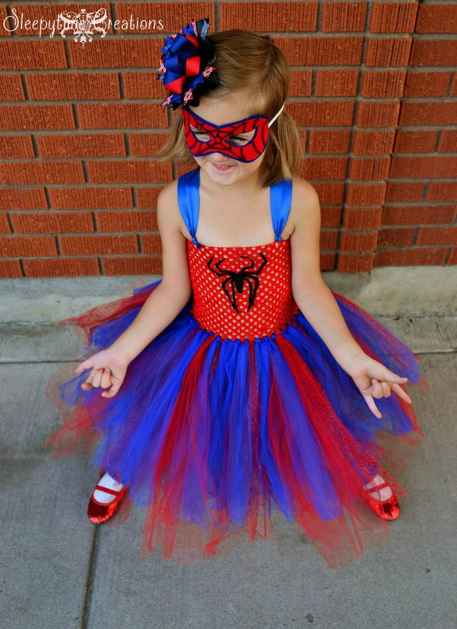 Spectacular Spidergirl inspired Tutu dress by Sleepytime4